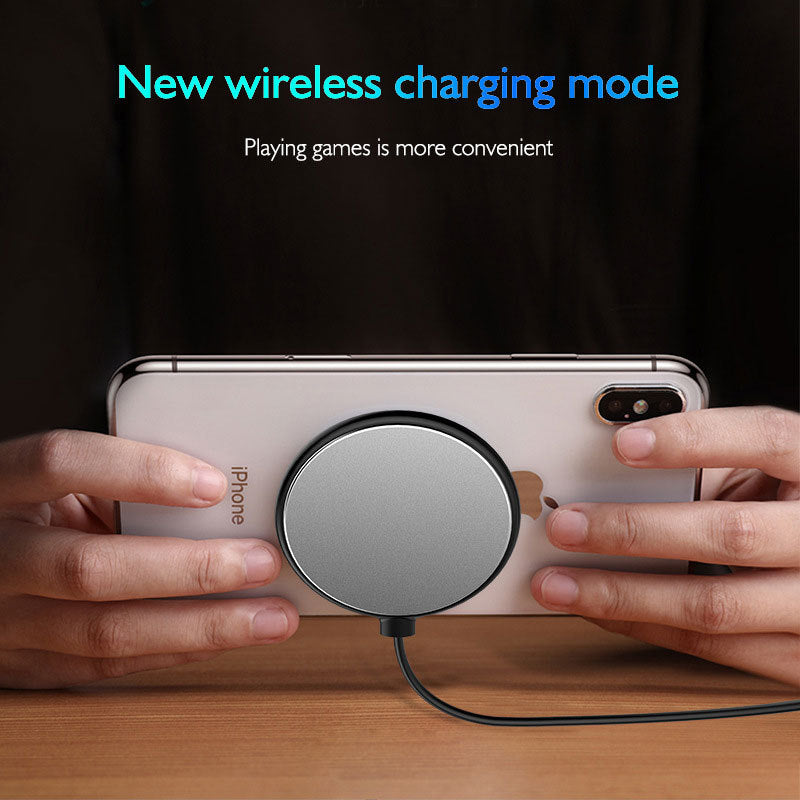 Fast charge ultra-thin small sucker Qi wireless charger