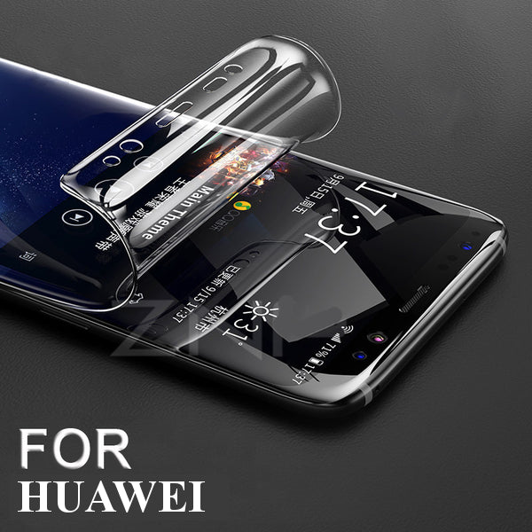 For Huawei P20 Pro Lite Nova3e Super Smooth Film 360 Full Coverage Screen Protector With Free Gift Film Artifactfor iPhone Huawei Tempered Glass