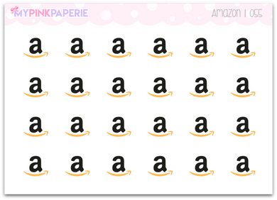 055 | Amazon Stickers - My Pink Paperie