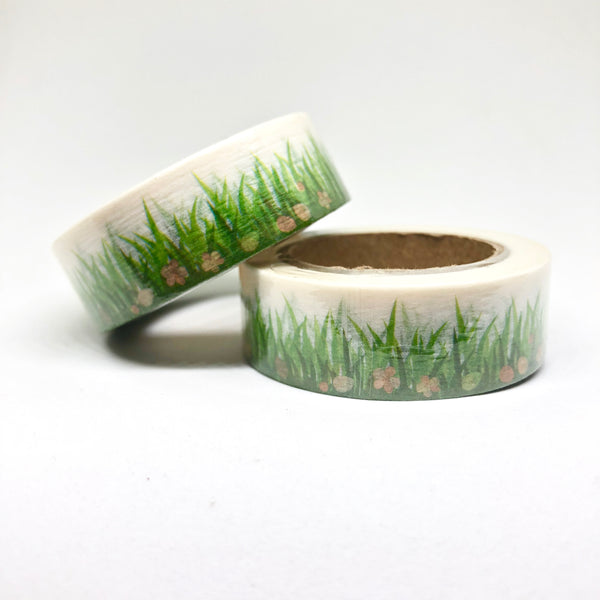 Green Grass Washi Tape Roll - My Pink Paperie