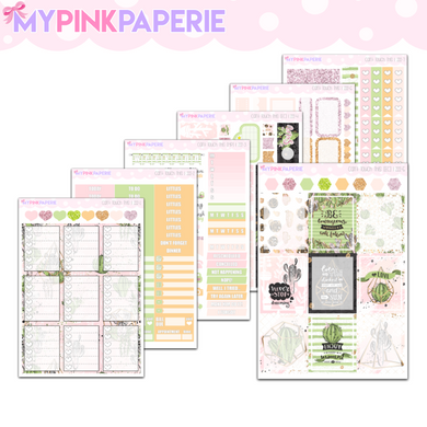 222 | Can't Touch This Deluxe 7 Page Weekly Kit [ERIN CONDREN]