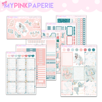 243 | Spring Shopping Deluxe 7 Page Weekly Kit sized for Erin Condren