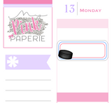 245 | Hockey Reminder Stickers - My Pink Paperie