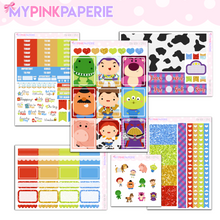 029 | Toy Box 6 Page Deluxe Weekly Kit - My Pink Paperie