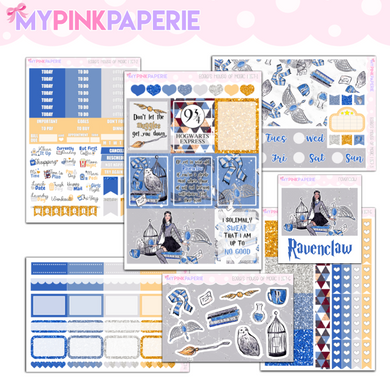 157 | Ravenclaw 7 Page Deluxe Weekly Kit