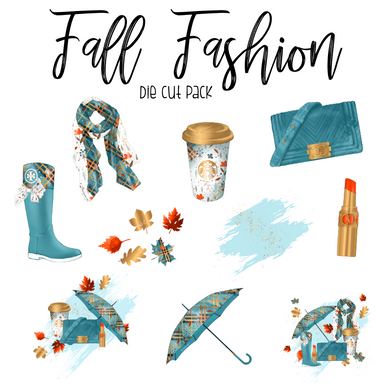 Fall Fashion Die Cut Pack - My Pink Paperie
