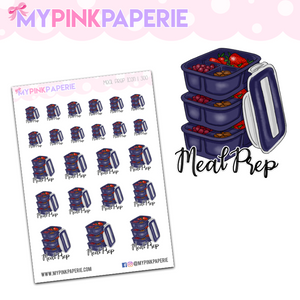 300 | Meal Prep Icons | Food Icons Collection - My Pink Paperie