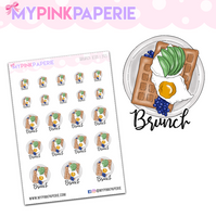 293 | Brunch Icons | Food Icons Collection - My Pink Paperie