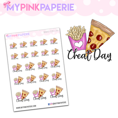 294 | Cheat Day Icons | Food Icons Collection - My Pink Paperie