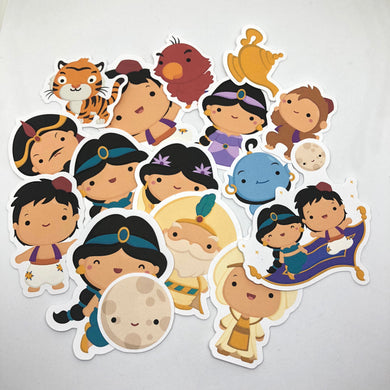 Aladdin Die Cut Pack