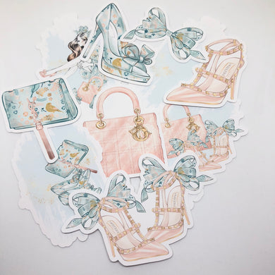 Spring Shopping Die Cut Pack - My Pink Paperie