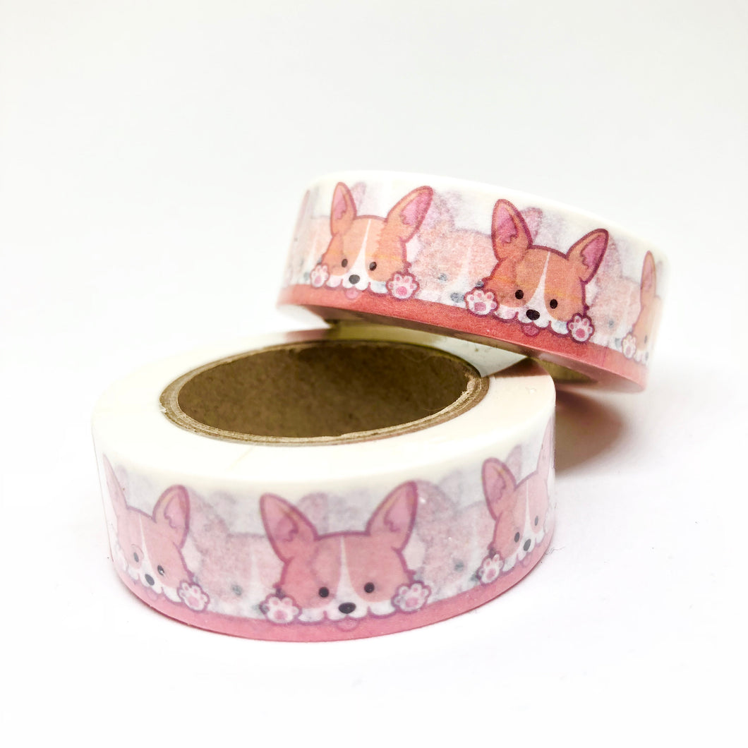Cute Corgi Washi Tape Roll - My Pink Paperie