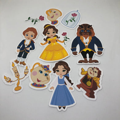 Beauty & the Beast Die Cut Pack