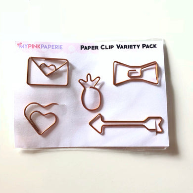 Paper Clip Variety Pack