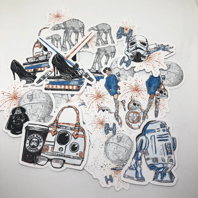 Star Wars Die Cut Pack
