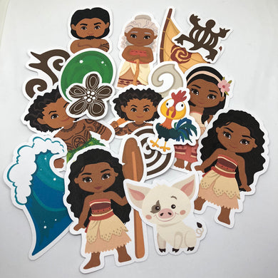 Moana Die Cut Pack