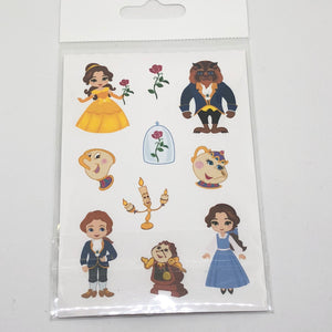 Beauty & the Beast Die Cut Pack - My Pink Paperie