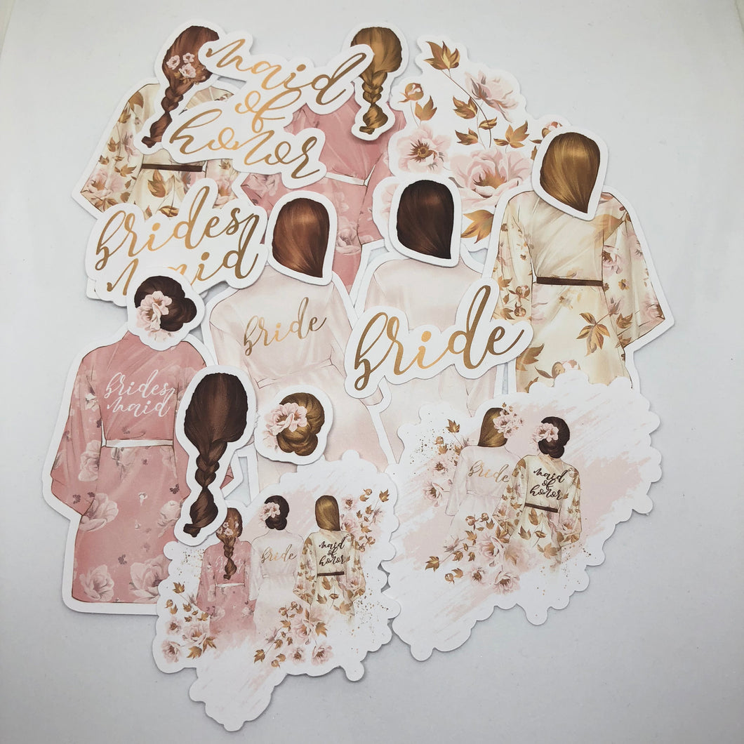 Bridal Party Die Cut Pack