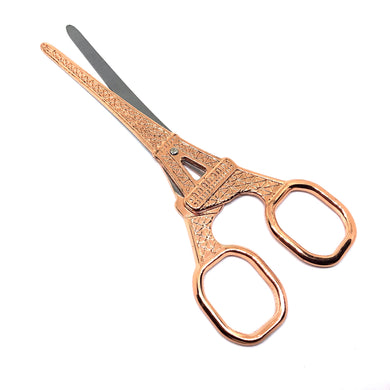 Rose Gold Eiffel Tower Craft Scissors