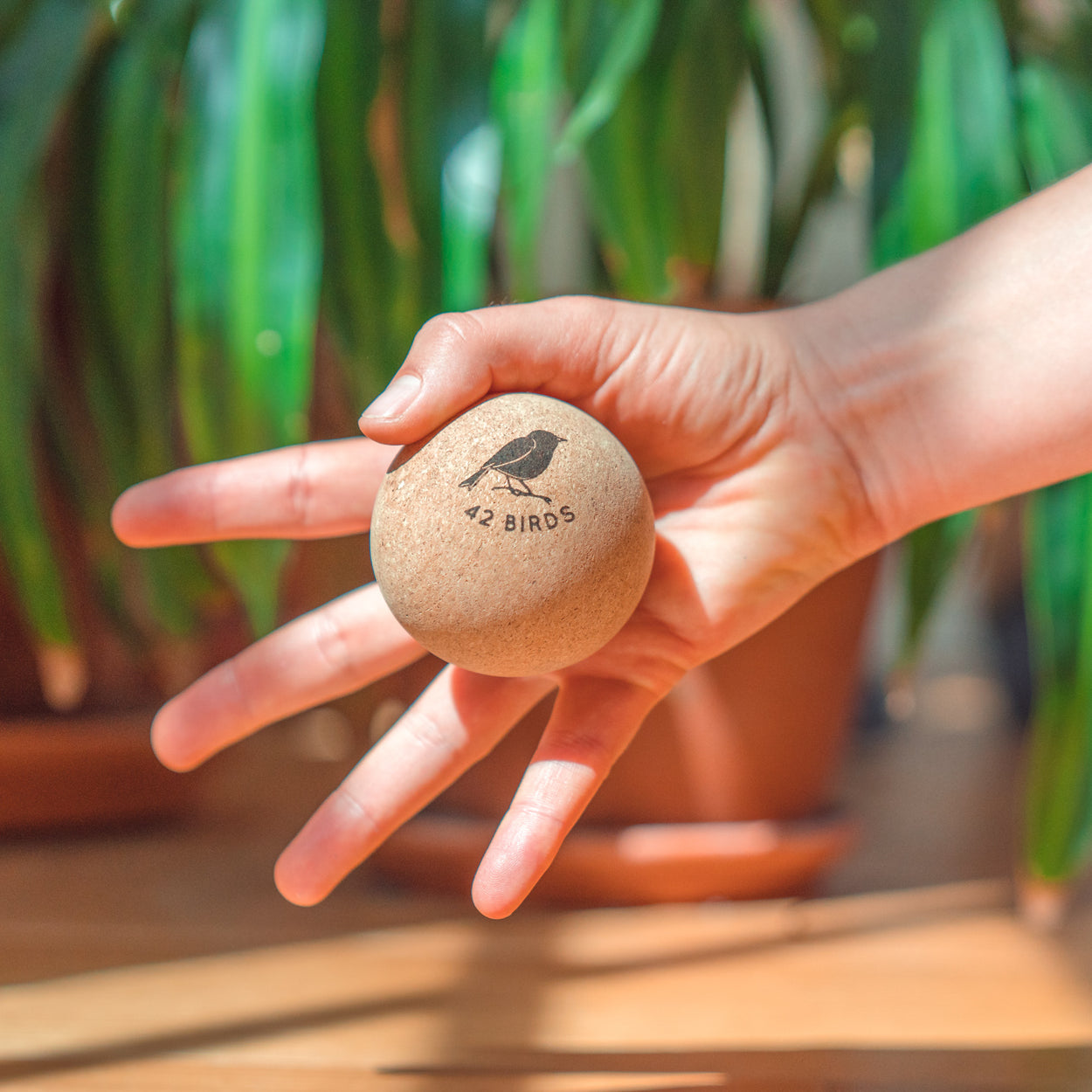 "Cork Massage Therapy Balls ""The Little Owls"" - 42 Birds"