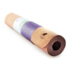 "Extra Long Cork Lightweight Yoga Mat ""The Robin"" 