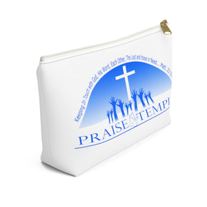Praise Temple of Long Beach™ Accessory Pouch w T-bottom