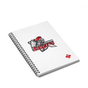 "Lakewood HS - ""Red Cross""  Spiral Notebook"