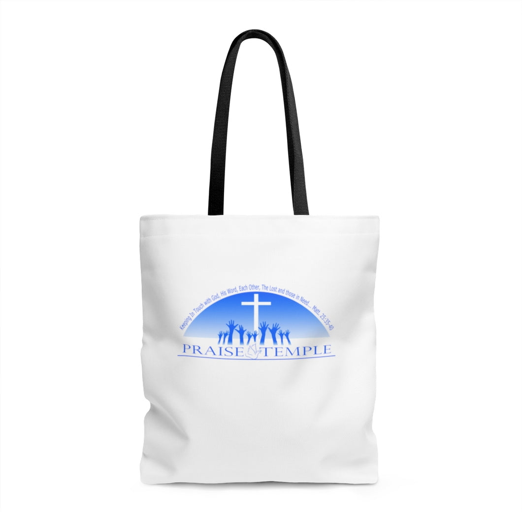 Praise Temple of Long Beach™ AOP Tote Bag