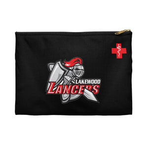 "Lakewood Lancers - ""Red Cross"" Pencil Pouch"
