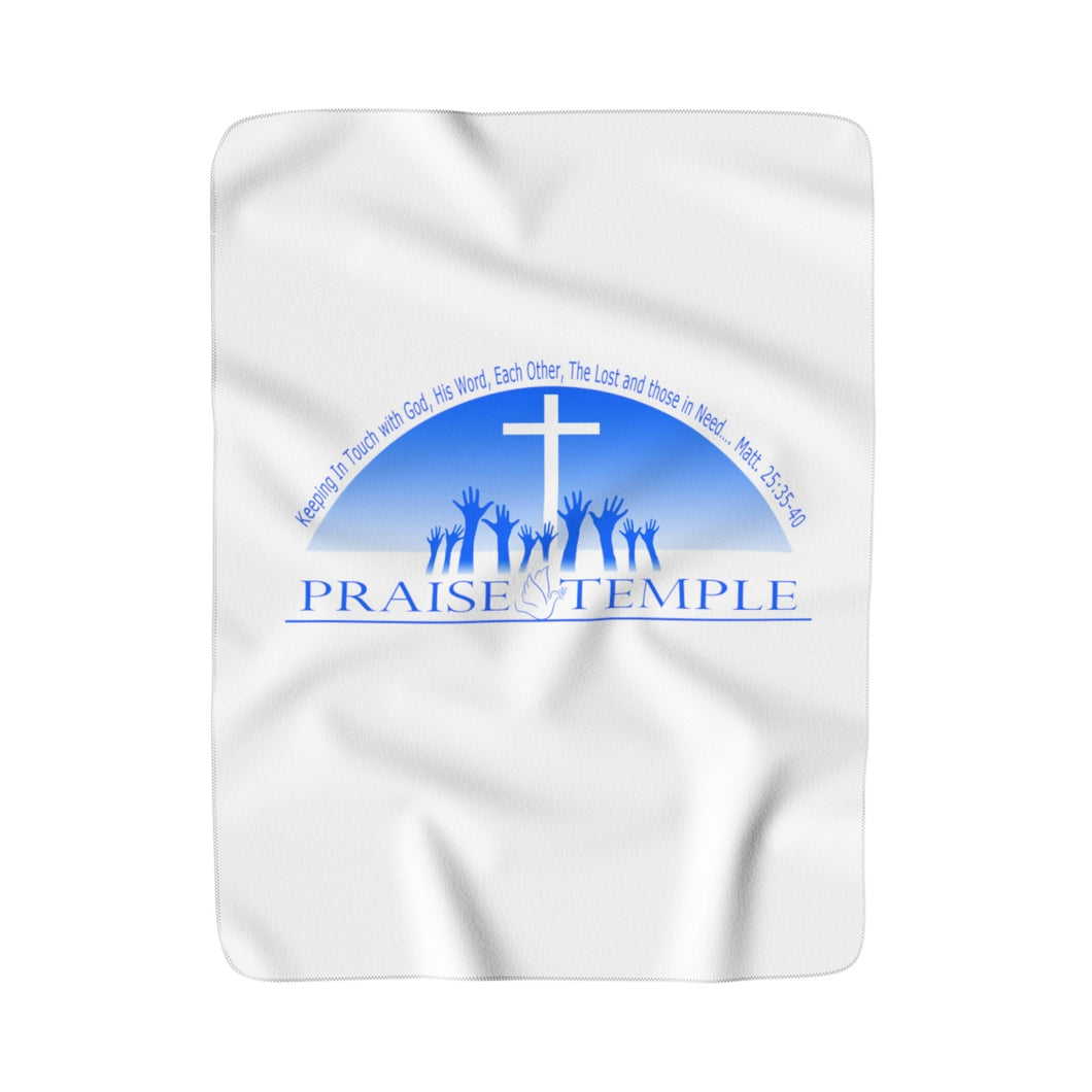 Praise Temple of Long Beach™ Sherpa Fleece Blanket
