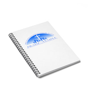 Praise Temple of Long Beach™ Spiral Notebook - Ruled Line