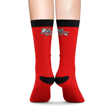 Load image into Gallery viewer, Lakewood HS HOSM Red Sublimation Socks