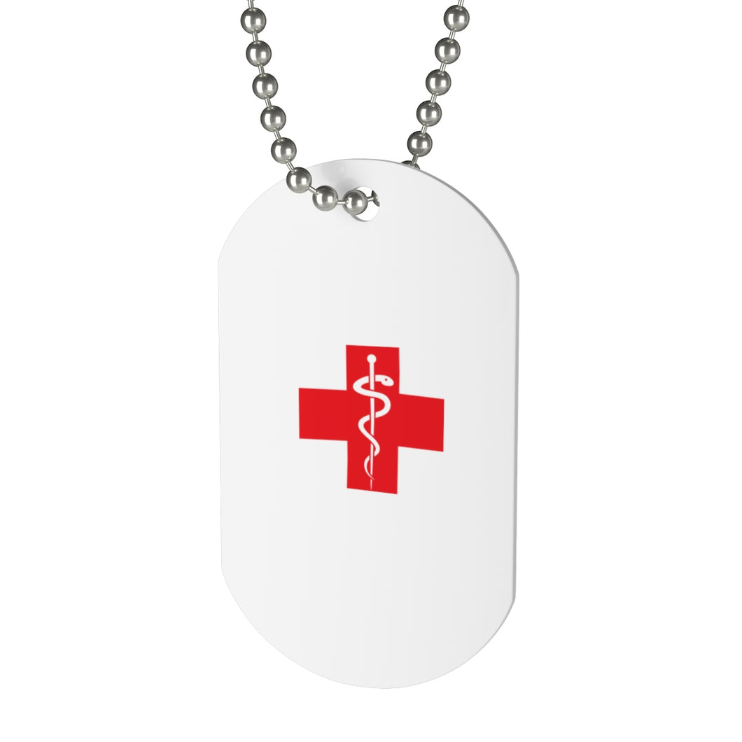 Lakewood HS HOSM Red Cross Dog Tag