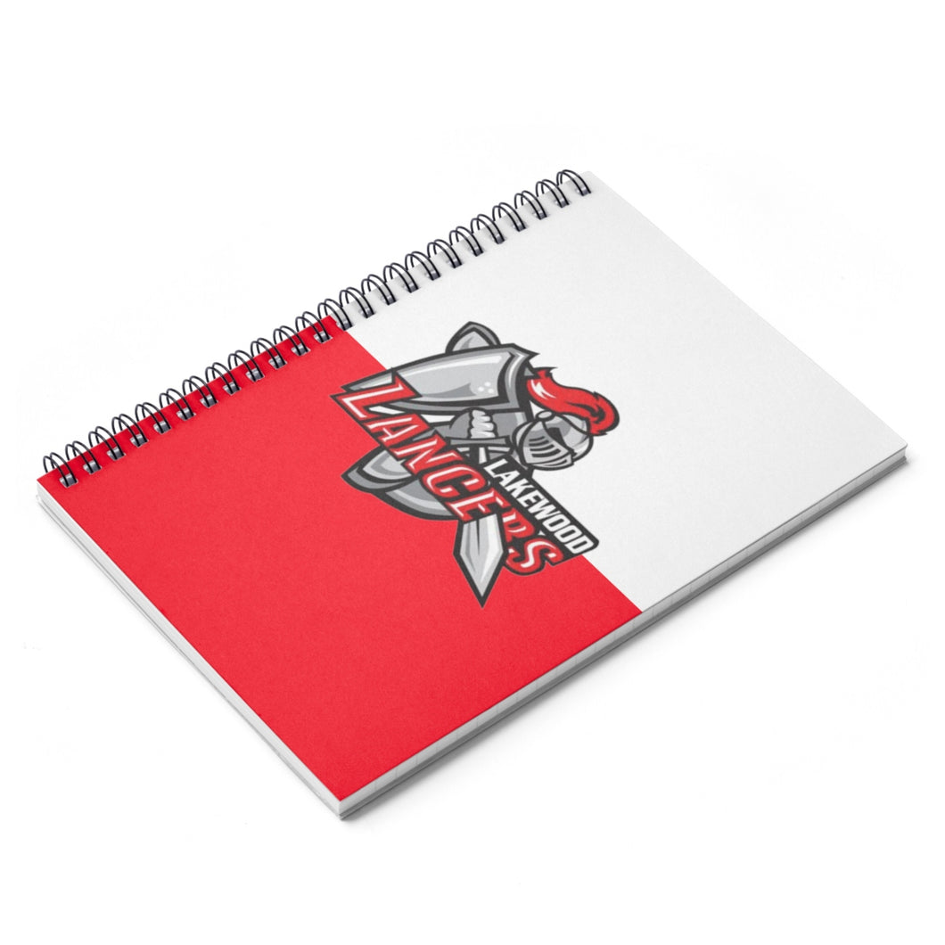 Lakewood Lancers Spiral Notebook