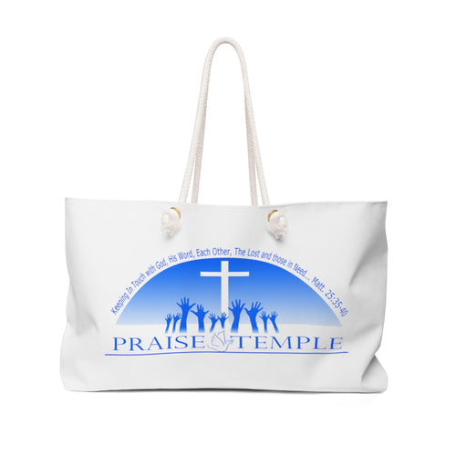 Praise Temple of Long Beach™ Weekender Bag