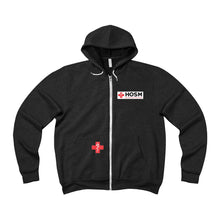 Load image into Gallery viewer, Lakewood HS HOSM Unisex Sponge Fleece Full-Zip Hoodie