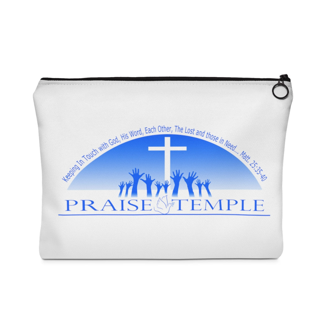 Praise Temple of Long Beach™ Carry All Pouch - Flat