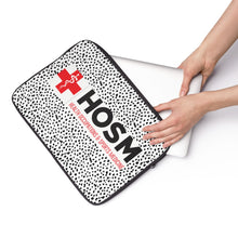 "Load image into Gallery viewer, Lakewood HS - HOSM Program ""Speckled"" Laptop Sleeve"