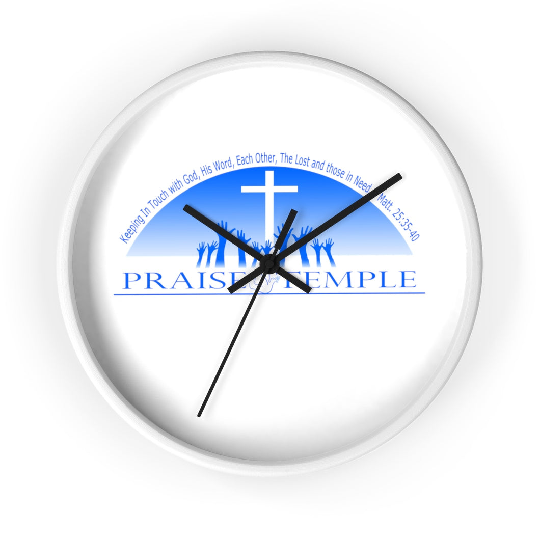 Praise Temple of Long Beach™ Wall clock