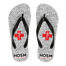 "Load image into Gallery viewer, Lakewood HS - HOSM "" Speckled"" Unisex Flip-Flops"