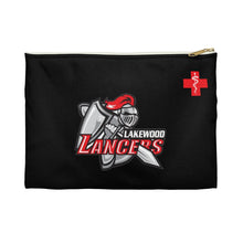 "Load image into Gallery viewer, Lakewood Lancers - ""Red Cross"" Pencil Pouch"