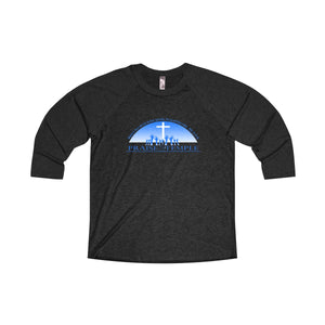 Praise Temple of Long Beach™ Unisex Tri-Blend 3/4 Raglan Tee