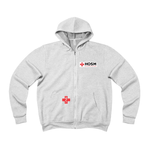 Lakewood HS HOSM Unisex Sponge Fleece Full-Zip Hoodie