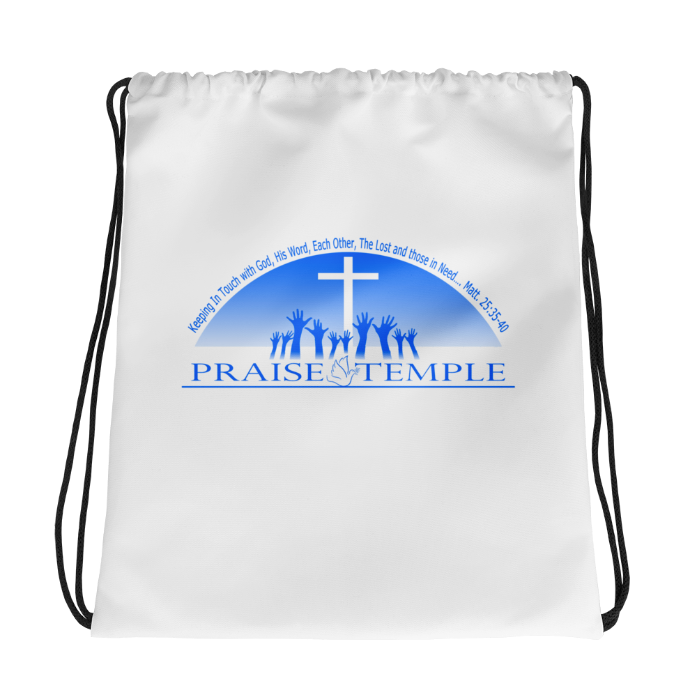Praise Temple of Long Beach™ Drawstring bag