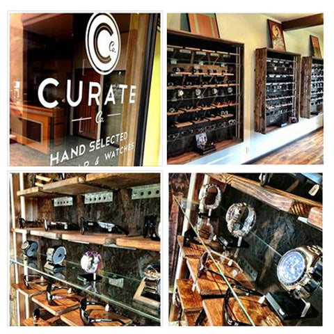 Curate Co. Hand-selected sunglasses, accessories, gear, watches, and apparel.