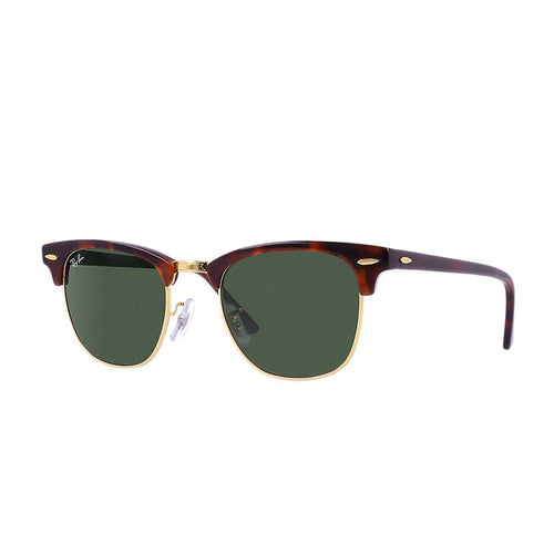 Ray-Ban RB3016-51 Clubmaster Sunglasses, 51mm brown
