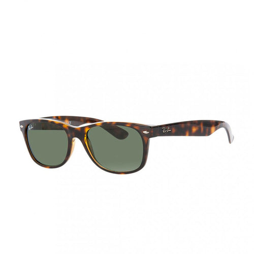 Ray-Ban RB2132-55 New Wayfarer Sunglasses, 55mm brown