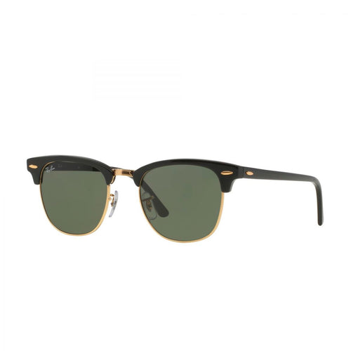 Ray-Ban RB3016-51 Clubmaster Sunglasses, 51mm black