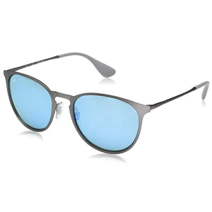 Ray-Ban RB3539-54 Erika Metal Sunglasses, 54mm Green Mirror