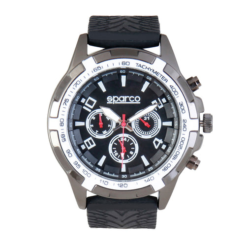 Sparco EDDIE Watch, Black